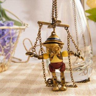 Pinocchio necklace