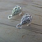 NEW Findings- Petals Post Sterling Silver  Components POSTS