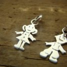 Charms Sterling Silver, Boy & Girl Components, findings
