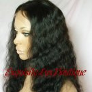 """Indian Remy Deep Wave 16"""" Full Lace wig"""