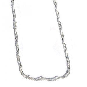 Sterling Silver 20 inch 2.5mm Twisted Neck Chain