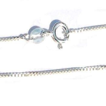 Sterling Silver 20 inch Box 1.5 mm Neckchain