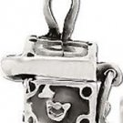 925 Sterling Silver Prayer Chest Hope Box Pendant