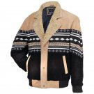 Genuine Suede Southwestern Style Leather Jacket