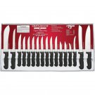 Chefs Secret 17pc Cutlery Knife Set Never Needs Sharpening