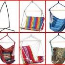 Club Fun™ Cushioned Hanging Swing Rope Chair & Frame