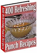 400 refreshing punch Recipes ebook + resell rights