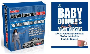 """""""Website Conversion Secrets - Sell Like Crazy"""" + """"Guide To Internet Marketing"""" ebooks package"""