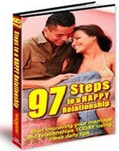 97 Steps To A Happy Relationship eBook + resell rights