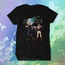 Final Fantasy VII Playstation 4 Video Games Men Shirt Black Tee T-Shirt New PS4