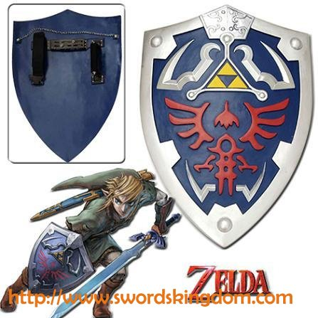 Links Hylian Shield from Zelda Video Game