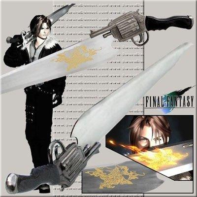 Final Fantasy Lionheart GunBlade Sword
