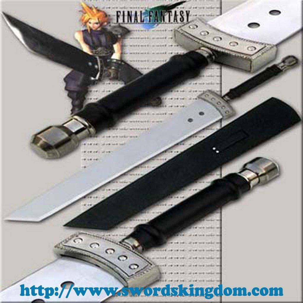 "Mini Cloud Buster Sword 42"" - Final Fantasy"