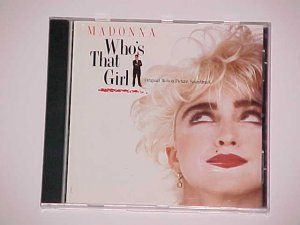 Who's That Girl by Madonna (CD, Oct-1990, Sire)