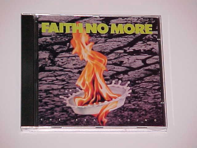 (SOLD in a lot) The Real Thing by Faith No More (CD, Jun-1989, Reprise)