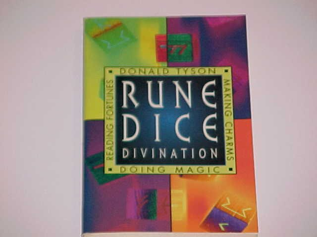 Rune Dice Divination by Donald Tyson (1997, Paperback)