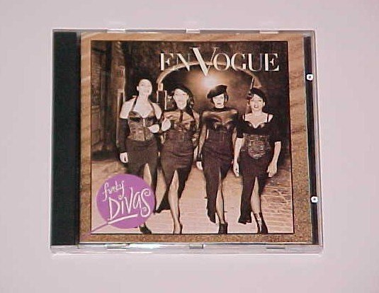 Funky Divas by En Vogue (CD, Mar-1992, EastWest)