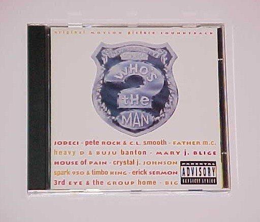 Who's the Man? [Original Soundtrack] [PA] (CD, Apr-1993, MCA (USA))
