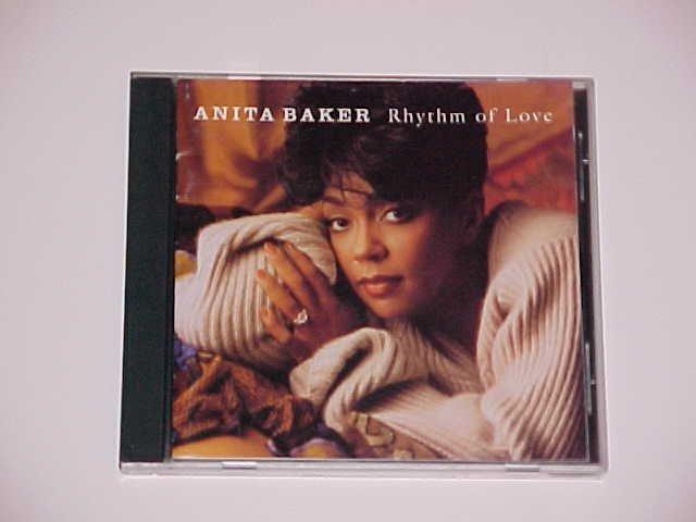 Rhythm of Love by Anita Baker (CD, Sep-1994, Atlantic)