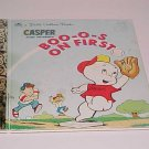 Casper And Friends Boo-o-s On First by Stephanie St. Pierre (1992, Hardcover, Golden Books)