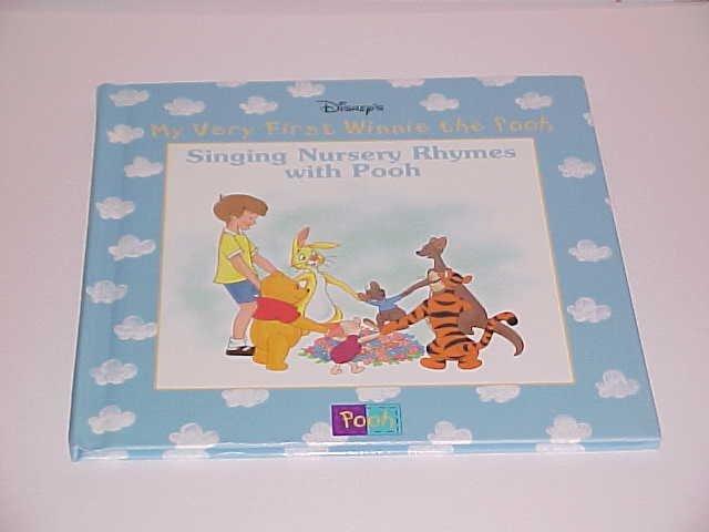 (SOLD in lot) Disney's My Very 1st Winnie the Pooh: Singing Nursery Rhymes w Pooh (1999, Hardcover)