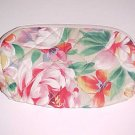 Quilted Flowery Cosmetic Bag