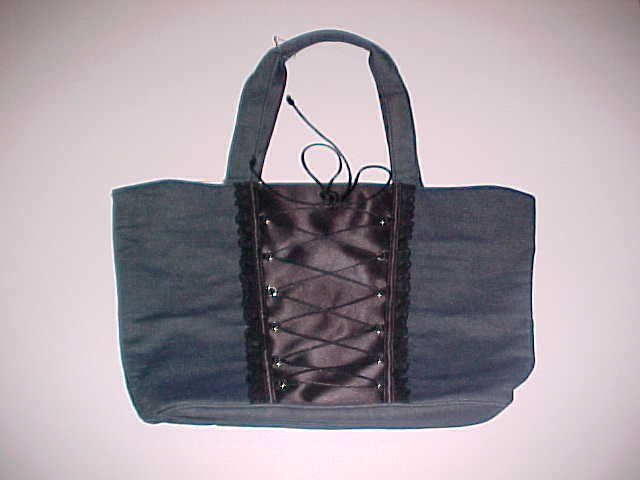(SOLD) Victoria's Secret Corset Purse/Tote Bag