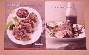 2 Neiman Marcus Holiday Entertaining Catalogs 2007, 2011