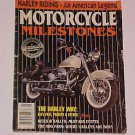Vintage Motorcycle Milestones 1995 Collector's Edition