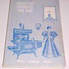 Vintage 1974 Carson City Historical Cook Book Cookbook (First Edition)