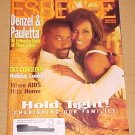 Essence Magazine December 1996 Denzel & Pauletta