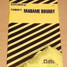 Cliffsnotes Flaubert's Madame Bovary (1990, Paperback, Revised)