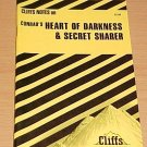 Cliffsnotes Conrad's Heart of Darkness and the Secret Sharer (1990, Paperback, Revised)