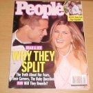 People Magazine January 24 2005 Jennifer Aniston Brad Pitt Naveen Andrews