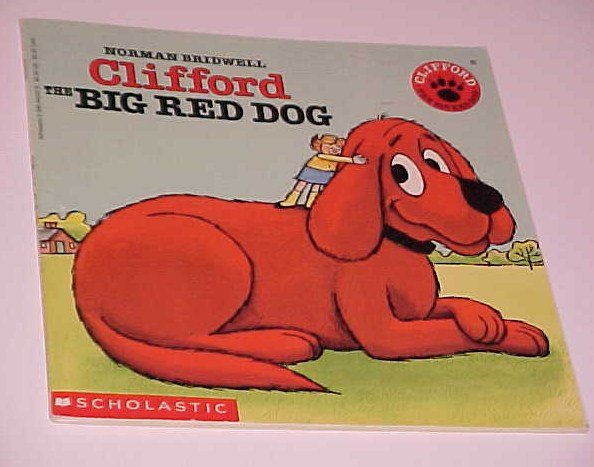 Clifford The Big Red Dog By Norman Bridwell 1985 Paperback