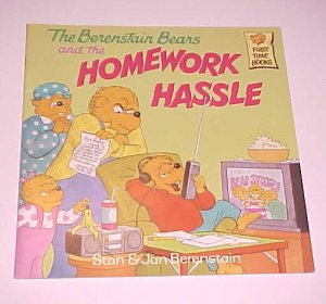 The Berenstain Bears and the Homework Hassle (1997, Paperback)