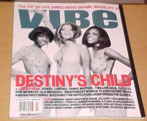 Vibe Magazine February 2001 Destiny's Child