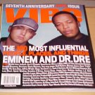 Vibe Magazine September 2000 Eminem Dr. Dre 7th Anniversary Issue