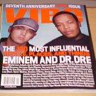 Vibe Magazine September 2000 Eminem Dr. Dre 7th Anniversary Issue