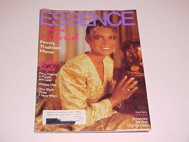 Sold in lot essence magazine december 1989 camille cosby for Essence magazine recipes