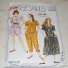 Vtg 1991 Easy McCalls 0022 Petite-Able Jumpsuit Dresses Petite Sz 10-20 Uncut