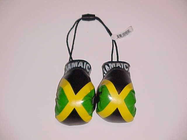 Mini Jamaican Flag Boxing Gloves