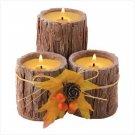 Triple Bark Candle