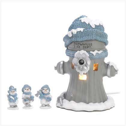 Snowbuddies Firehouse Set