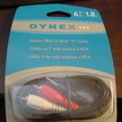 Dynex® - 6' Mini-to-RCA Stereo Audio Cable (DX-AD104)