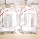 LOT OF 10 WIRELESS SOLUTIONS CLEAR PHONE CASE LG VX8800