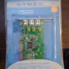 Dynex DX-FC103 1394 PCI Card 3Port IEEE