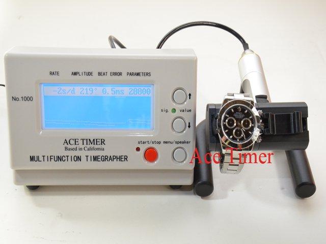 Watch Timing Machine Multifunction Timegrapher 1000