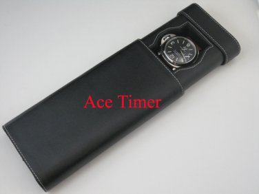 1 Watch Black Traveling & Storage Case Box Fits up to 60mm