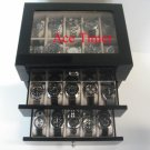 30 watch (Premium Series) Black Lacquer Display & Storage Case Box + Gift